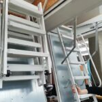 Montáž půdních schodů